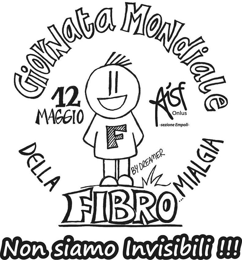 Il nostor loogo per la giornata mondiale della fibromialgia 2015 con lo slogan non siamo invisibili-r100
