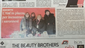 AISF in piazza a Saronno