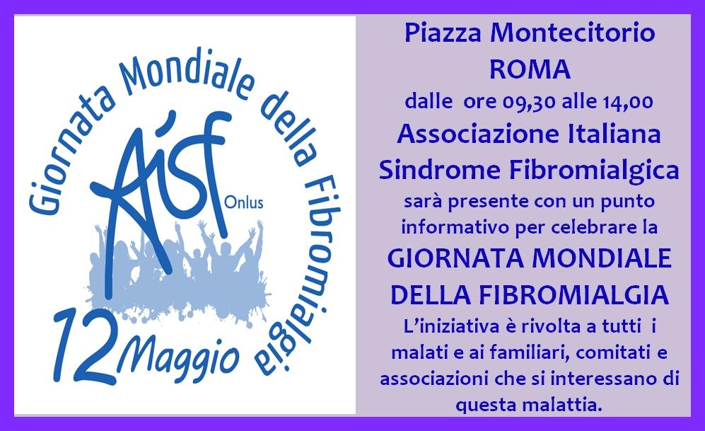 Poster Giornata SFM Roma 12 Maggio