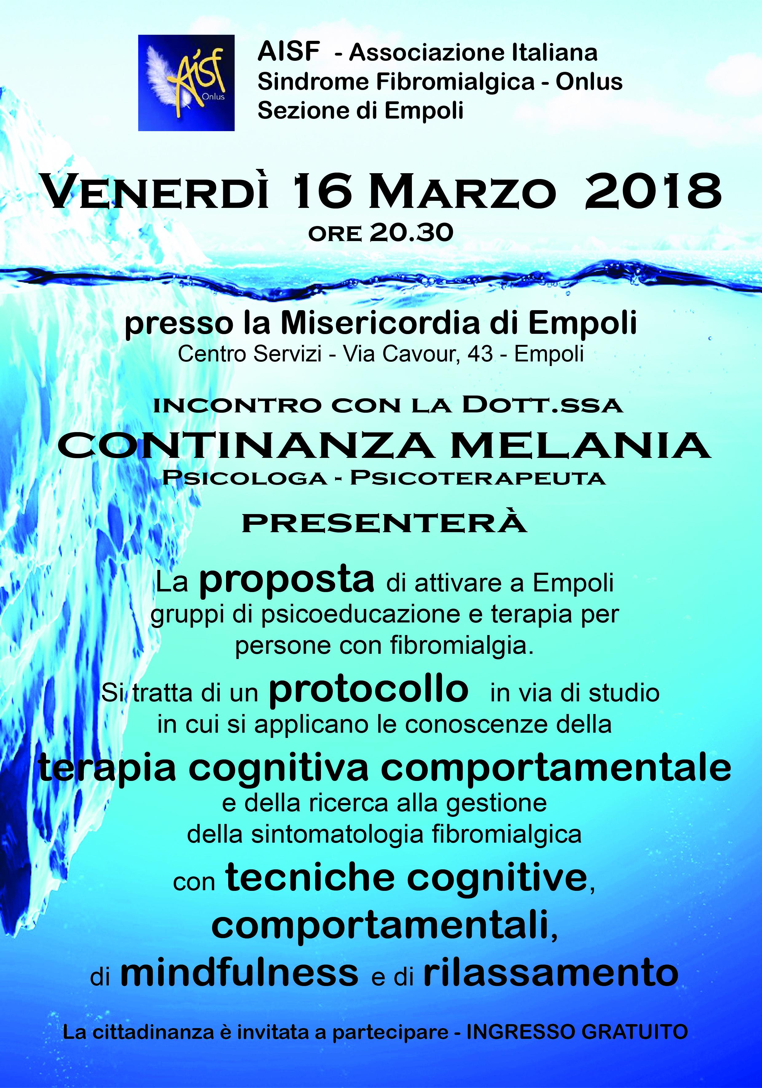 Volantino AISF 16 marzo 2018