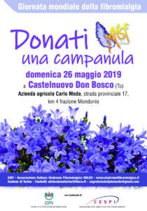 26 maggio Locandina giornata campanula a Castelnuovo