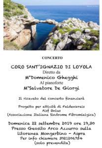 Concerto 22 settembre