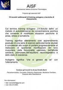 training autogeno